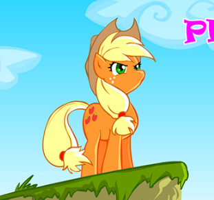 Pony Applejack Macera