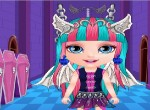 Bebek Barbie Monster High Stili oyunu