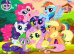 My Little Pony Yapboz oyunu