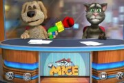 Talking Tom ile Köpek oyunu