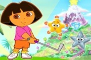 Dora Mini Golf oyunu