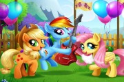 My Little Pony Bahar Festivali oyunu